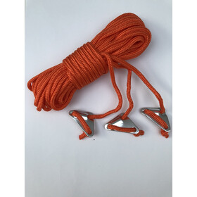 Bent Guy Ropes, orange